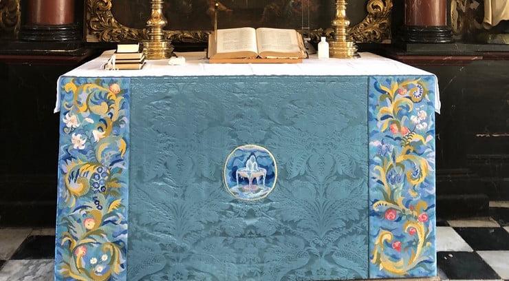 Dronningens kirkekunst i Gråsten Slotskirke