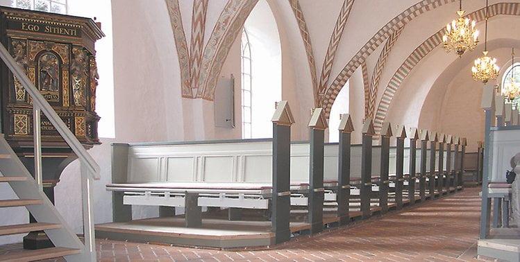 Temperatur i kirken